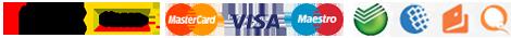 Мы принимаем платежи через безопасную Яндекс кассу